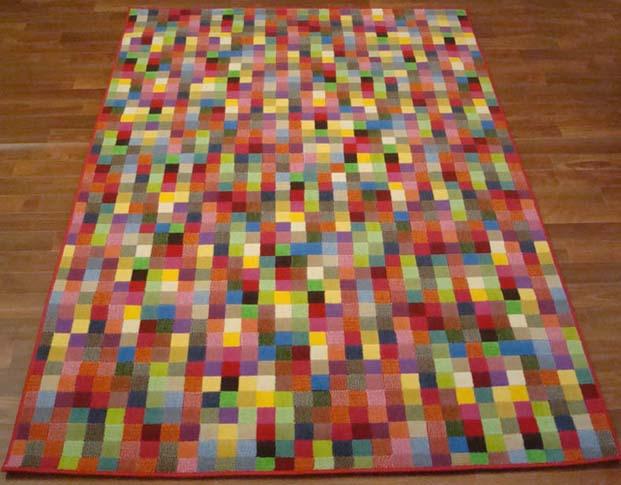 W505 tappeti moderni colorati disponibili 4 disegni e 2 for Tappeti colorati