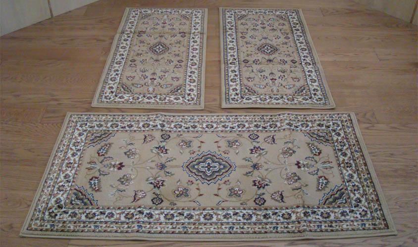 W526 tappeti classici camera letto 3 pezzi parure trio scendiletto ebay - Tappeti da camera da letto ...