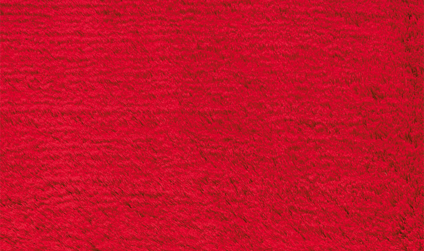 Tappeto shaggy rosso aster red - Tappeto shaggy rosso ...