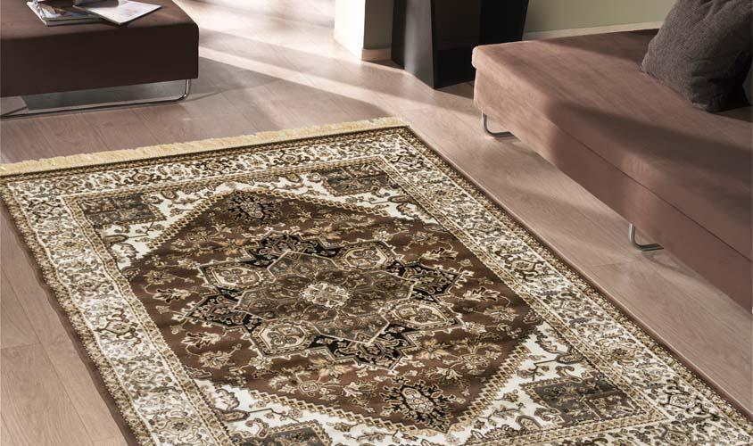 Tappeto classico - Collezione Rubine 304-MARRONE - Floorita SRL
