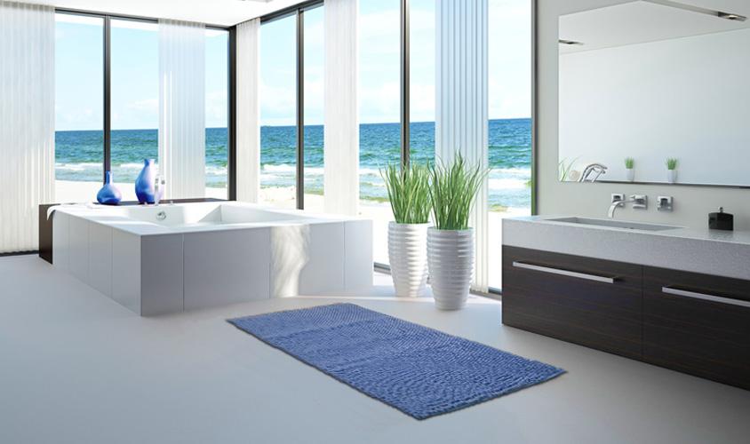 Piastrelle ceramica pavimento rivestimento bagno lilla bagno