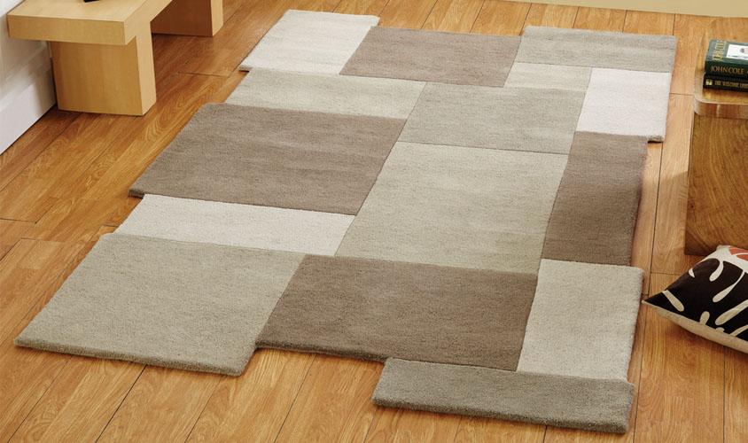 tappeti moderni di lana
