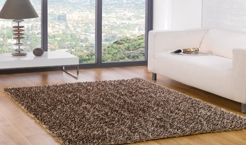 Tappeti Soggiorno Moderno : Tappeti moderni soggiorno a pois in bianco e nero