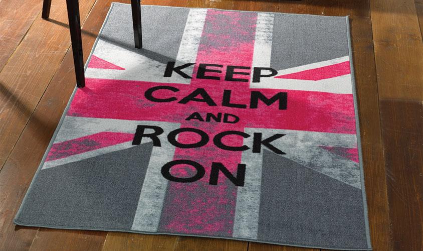 Tappeto bambini bandiera inglese - tappeto cameretta bimbi ...