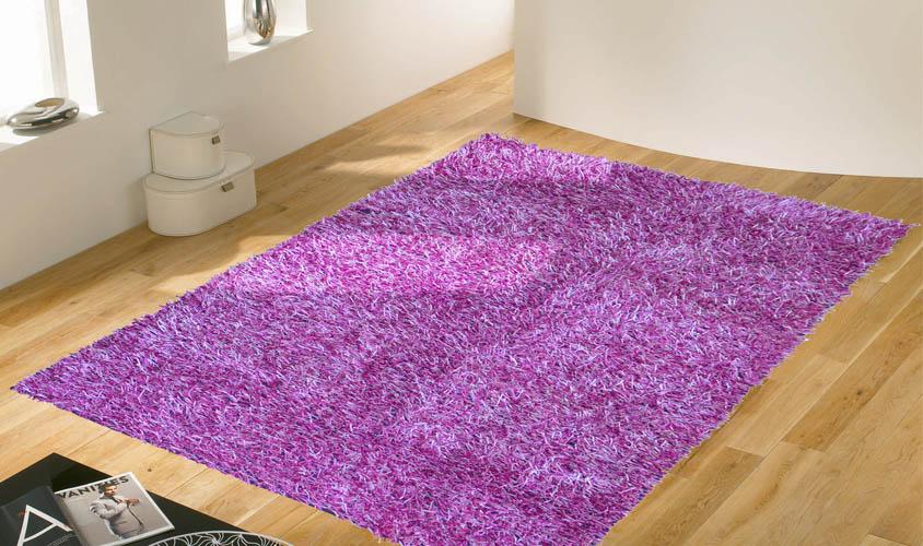 Tappeto Cameretta Lilla : W061 tappeto shaggy lilla 120 x 170 decorazione casa ebay