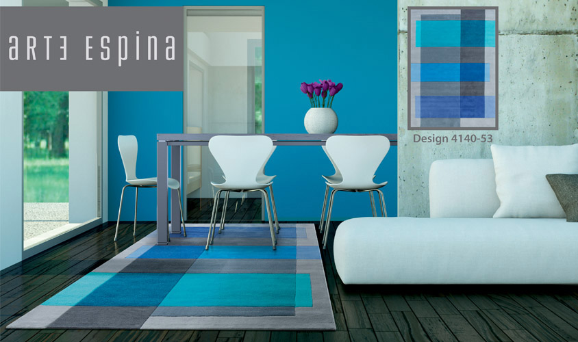 Tappeti azzurri moderni pannelli termoisolanti for Benuta tappeti moderni