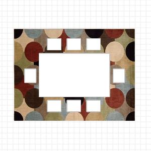 Come scegliere la misura giusta del tappeto - Tappeto sotto tavolo ...