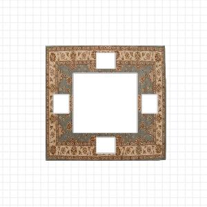 Come scegliere le dimensioni del tappeto modificare una pelliccia - Tappeto sotto tavolo ...